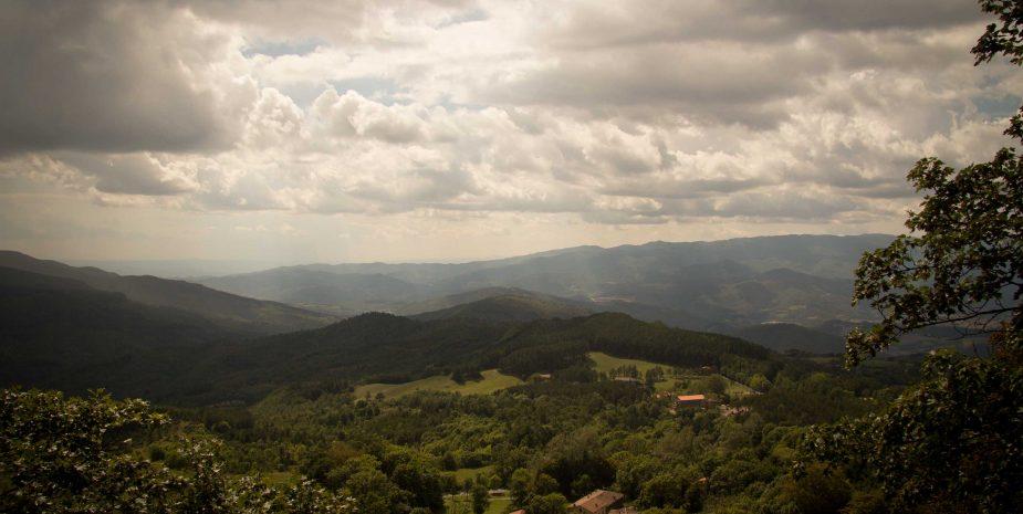 Vista da La Verna
